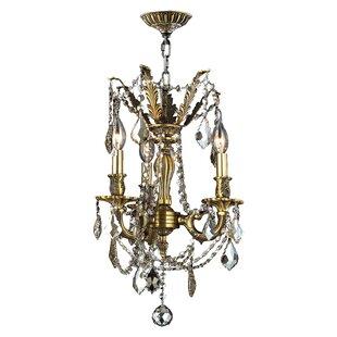 Astoria Grand Radtke 3-Light Candle Style..