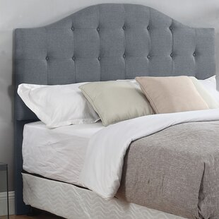 Inexpensive Seger Upholstered Panel Headboard by Three Posts