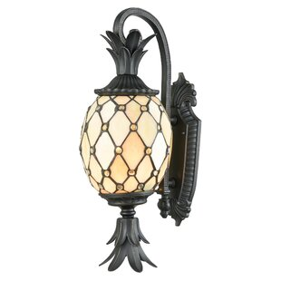 Bay Isle Home Snead 2-Light LED Outdoor Sconce
