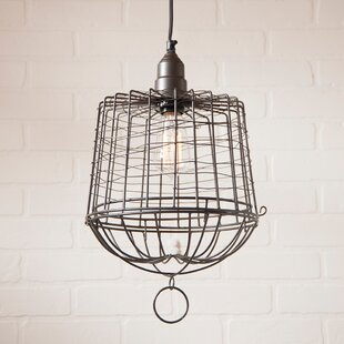 Kelley 1-Light Lantern Pendant by Gracie Oaks