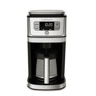 12-Cup Burr Grind and Brew Coffee Maker