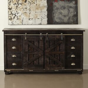 Guerrette 8 Drawer 2 Door Credenza by Laurel Foundry Modern Farmhouse