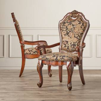 Astoria Grand Giovani Upholstered Side Chair In Brown Wayfair