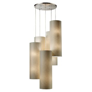 Maloof 20 LED Cluster Pendant by Bungalow Rose