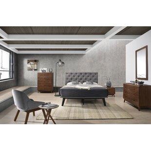 George Oliver Cottone Modern Platform 4 Piece Bedroom Set