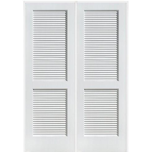 Verona Home Design Stile And Rail 2 Panel Prehung Door Wayfair