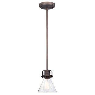 Williston Forge Haefner 1-Light Cone Pend..