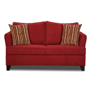 Simmons Upholstery Antin Loveseat Sleeper Sofa by Red Barrel Studio