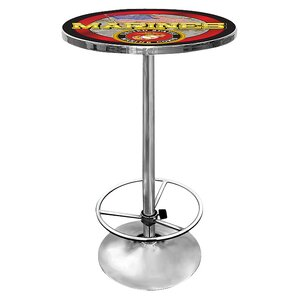 United States Marine Corps Pub Table by T..