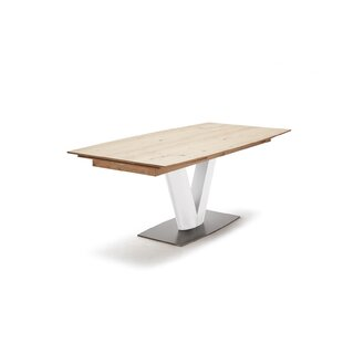 Mia Extendable Dining Table By Ebern Designs