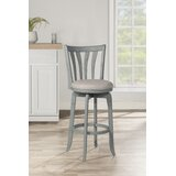 Marquita Bar & Counter Swivel Stool by Highland Dunes