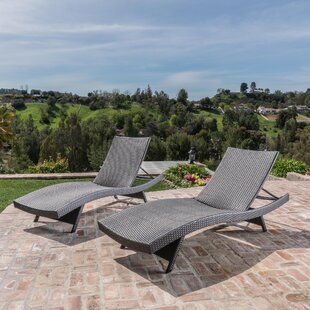 Lindo Reclining Chaise Lounge Set Of 2
