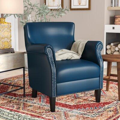 Prime Loon Peak Odelia Armchair Upholstery Navy Blue Creativecarmelina Interior Chair Design Creativecarmelinacom