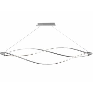Orren Ellis Esposito 3-Light LED Geometric Chandelier