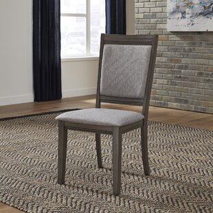 Ladwig Upholstered Dining Chair (Set of 2) Union Rustic