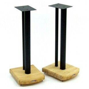 60cm Fixed Height Speaker Stand (Set Of 2) By Symple Stuff