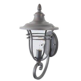 Charlton Home Ferrante 1-Light Outdoor Sconce