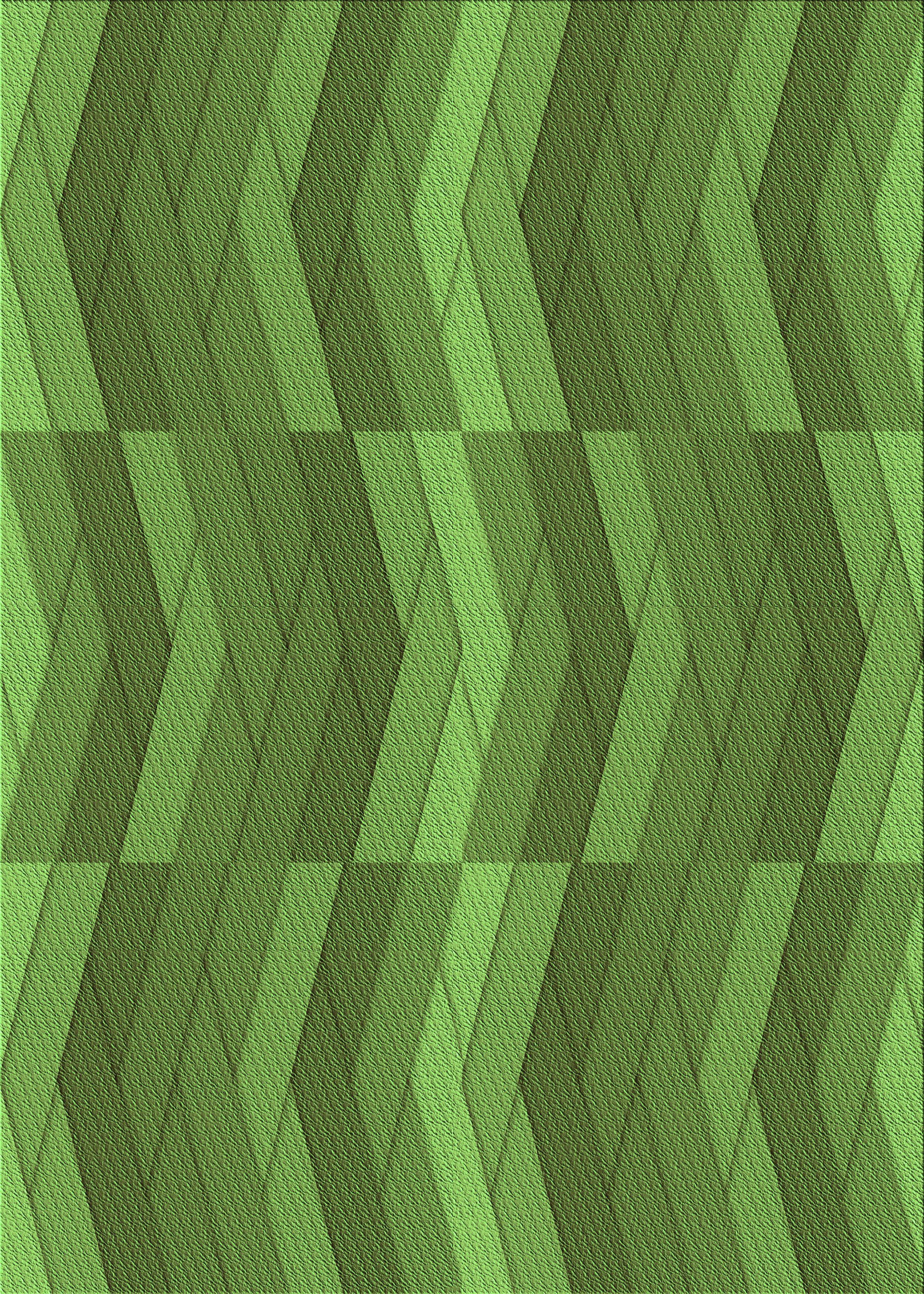 East Urban Home Chevron Wool Green Area Rug Wayfair