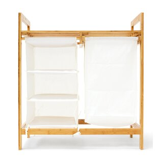 Linea Laundry Sorter With Storage Shelves By Brambly Cottage