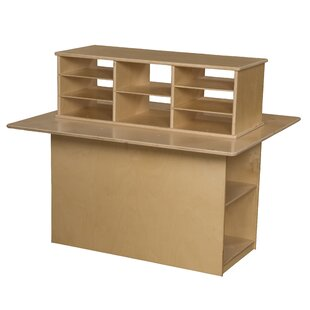 Affordable Junior Double Sided 12 Compartment Cubby By Wood Designs