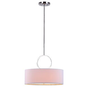 Latitude Run Oak 1-Light Pendant