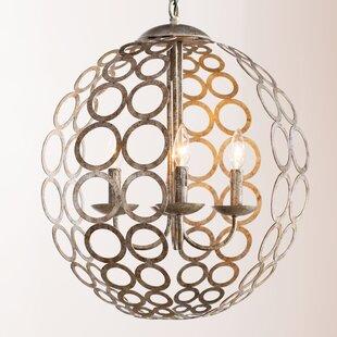 World Menagerie Kenneth 4-Light Globe Chandelier