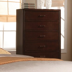 Carreras 5 Drawer Chest by Charlton Home