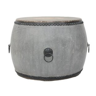 Affordable Drum End Table by Sarreid Ltd