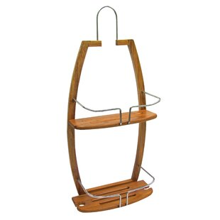Ginsey Bamboo Shower Caddy