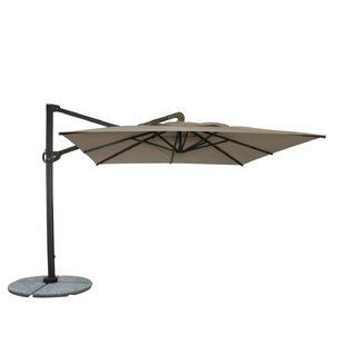 Woodard Cantabria 10' Square Cantilever Umbrella