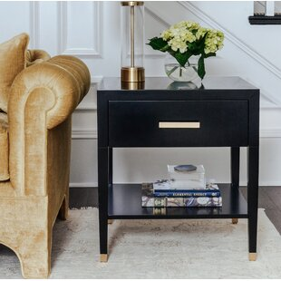 Carlyle End Table with Storage