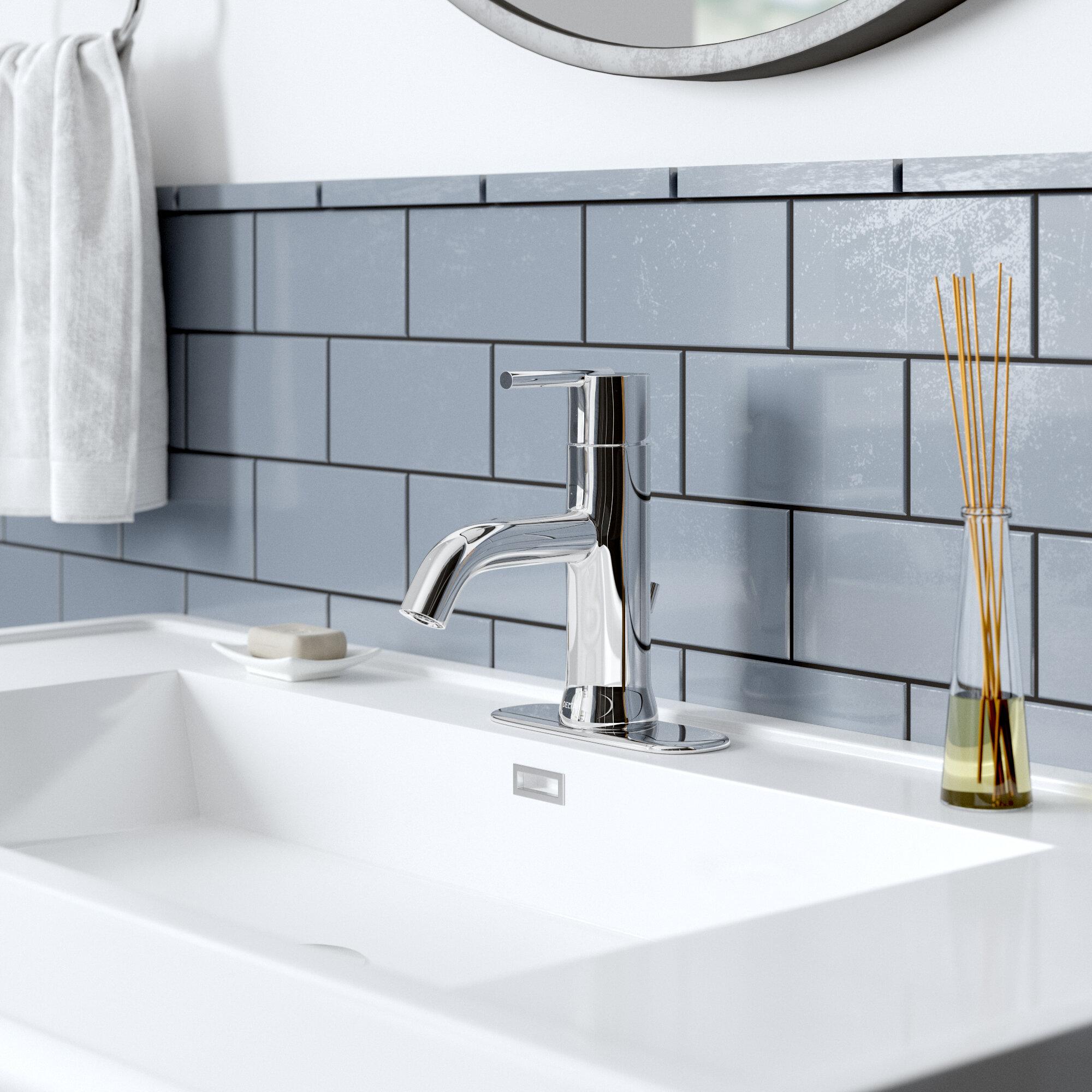 559lf Ssmpu Mpu Czmpu Delta Trinsic Single Hole Bathroom Faucet Reviews Wayfair