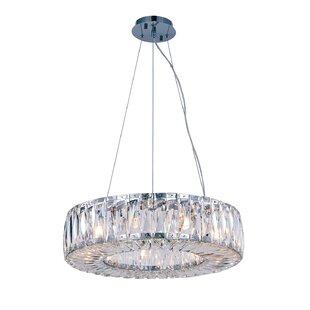 Luker 9-Light Crystal Chandelier by Rosdorf Park