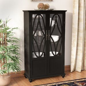 Cardiff Wood Curio Cabinet