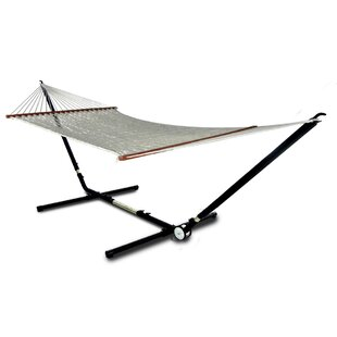 Heanor Adjust to Fit Double Tree Hammock with Stand