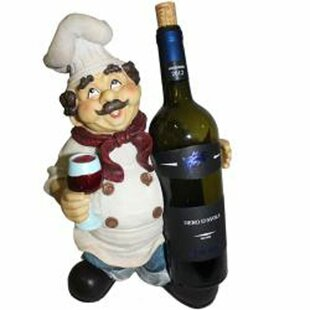 Essential Decor and Beyond Wine Chef Holder