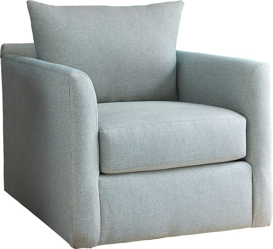 alice swivel armchair