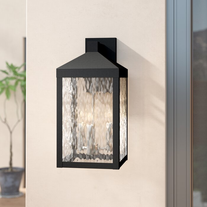Demery 3 Light Outdoor Wall Lantern