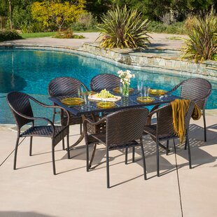 Moores 7 Piece Dining Set By Alcott Hill
