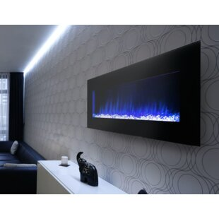 Streamline Wall Mounted Electric Fireplace by Cova Lighting