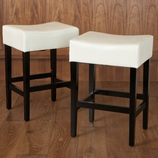 Lorraine 26.71 Bar Stool (Set of 2) Latitude Run
