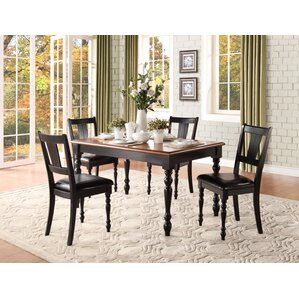 Burhall Dining Table by Charlton Home