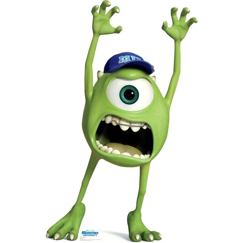 Advanced Graphics Mike Wazowski Disney Pixar Monsters University Cardboard Stand Up Reviews Wayfair
