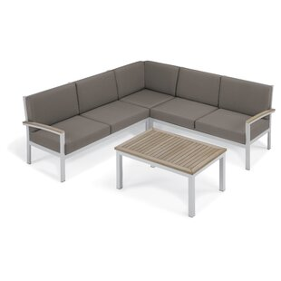 Caspian 7 Piece Sectional Set with Cushions