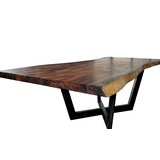 Pullman Solid Wood Dining Table by Foundry Select