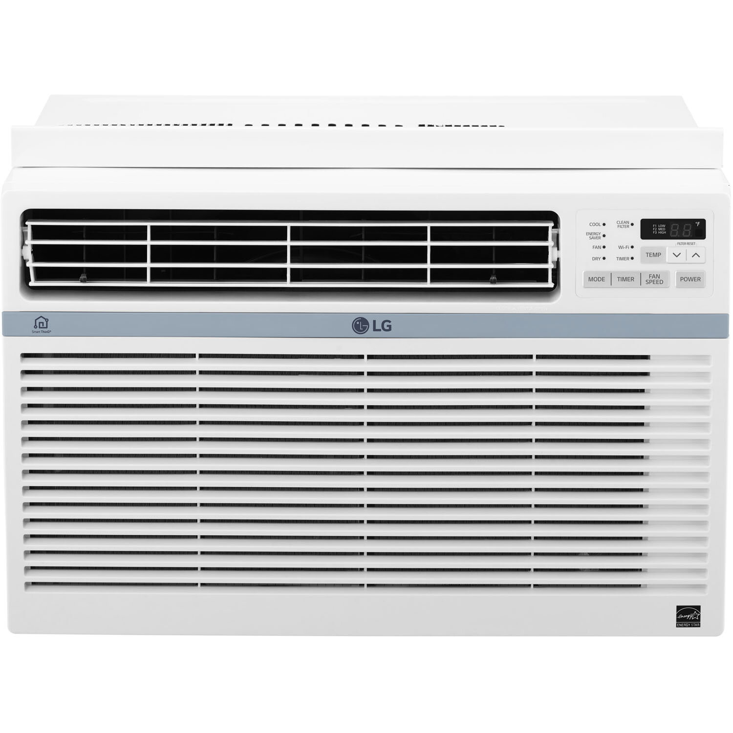 Lg 8 000 Btu Energy Star Window Air Conditioner With Remote And Wifi Control Reviews Wayfair