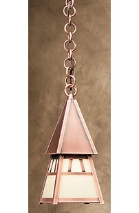 Arroyo Craftsman Dartmouth 1-Light Outdoor Pendant