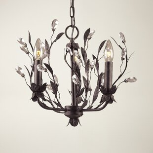 Whittingham 3-Light Candle Style Chandelier