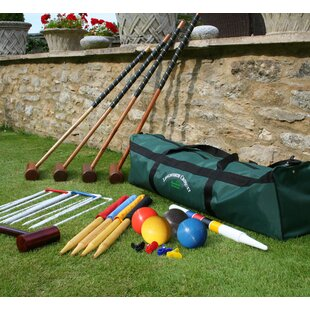 4 Player Croquet Set In A Bag By Freeport Park
