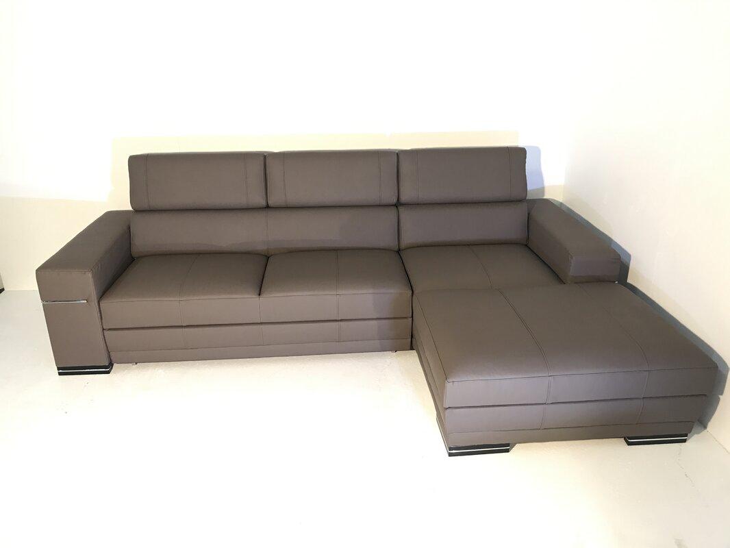 Best Luxury Sectional Sofa Brands 2021 Orren Ellis Hackman Right Hand Facing Sleeper Sectional
